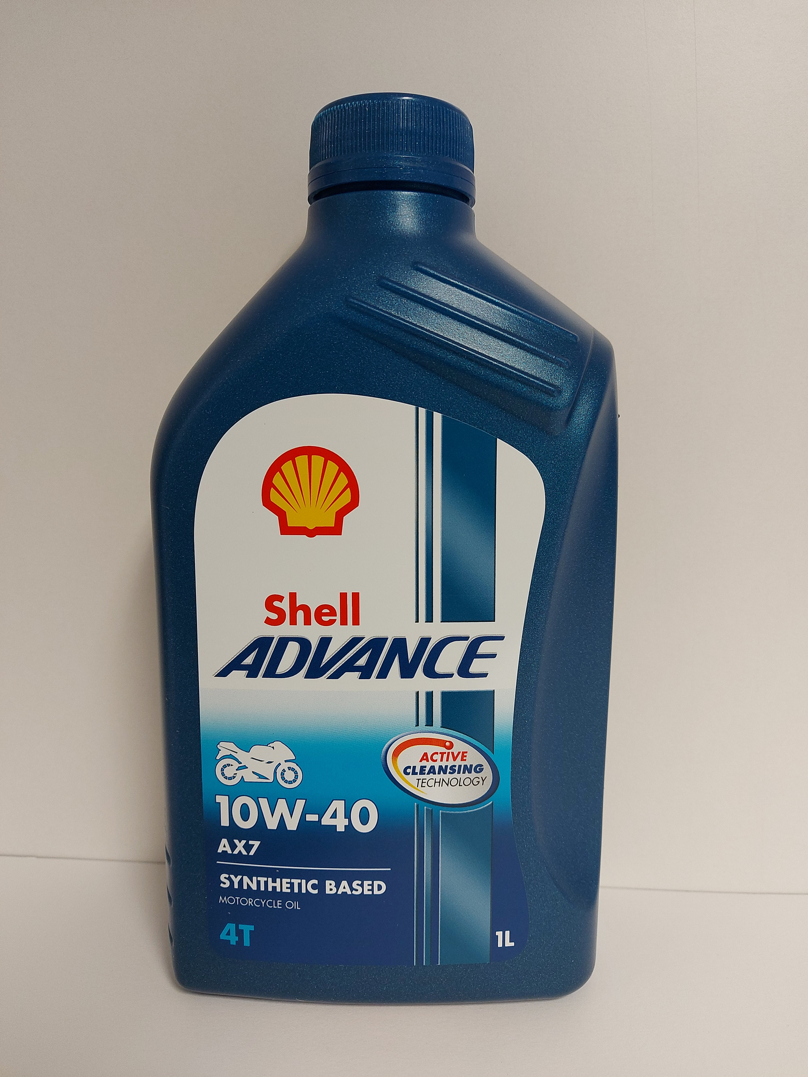 SHELL ADVANCE 4T AX7 10W40 1L