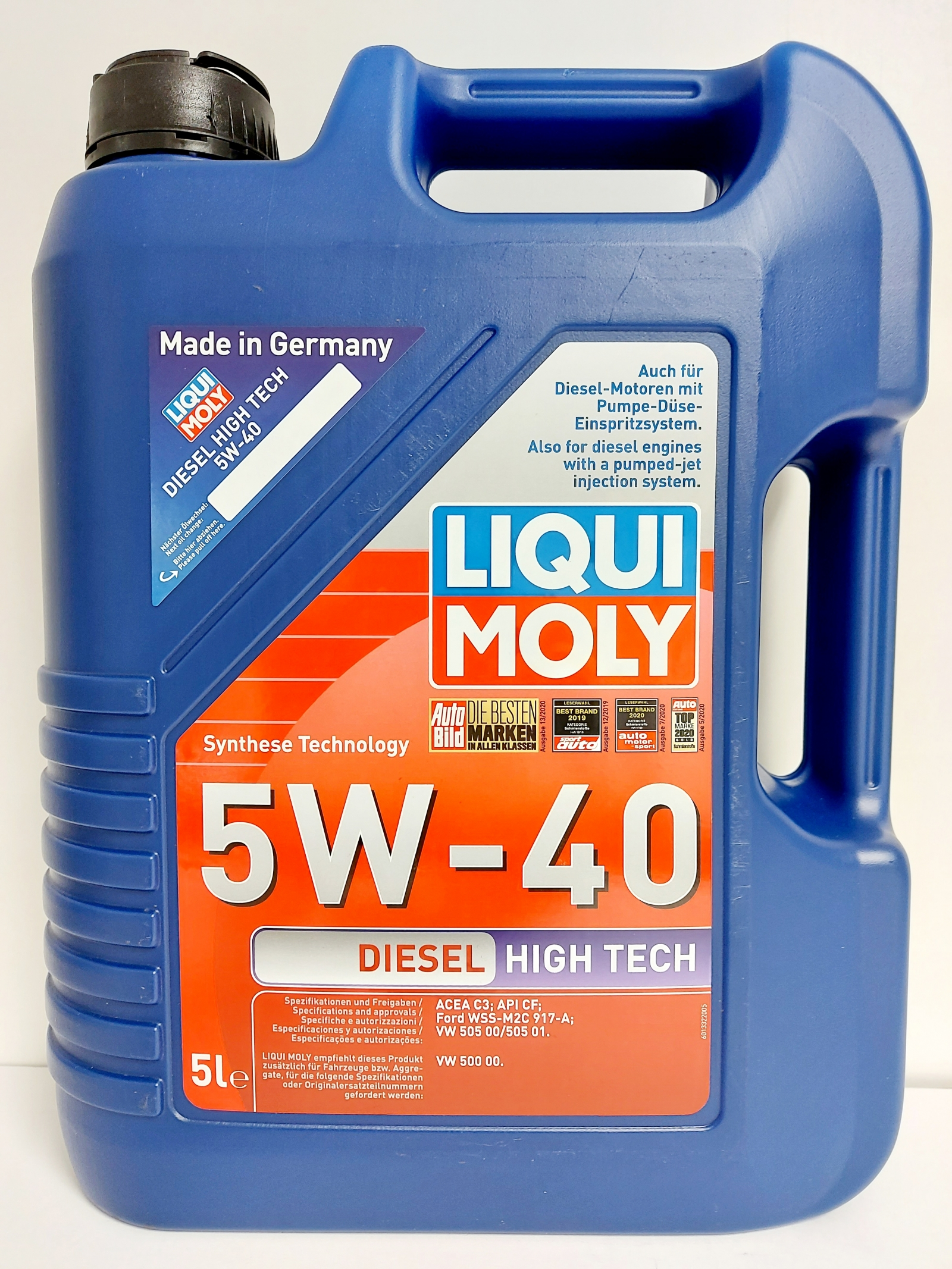 LIQUI MOLY DIESEL HIGH TECH 5W40 5L