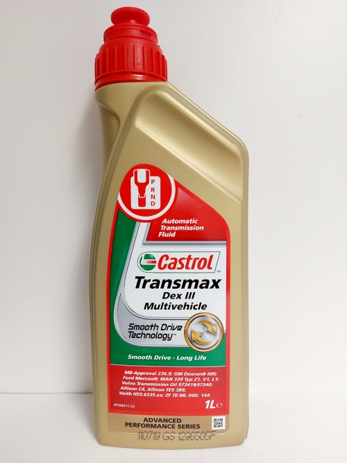 CASTROL TRANSMAX DEX. III MULTIVEHICLE 1L