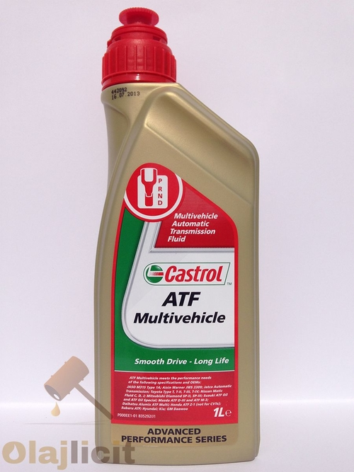 CASTROL ATF MULTIVEHICLE (TRANSMAX E) 1L