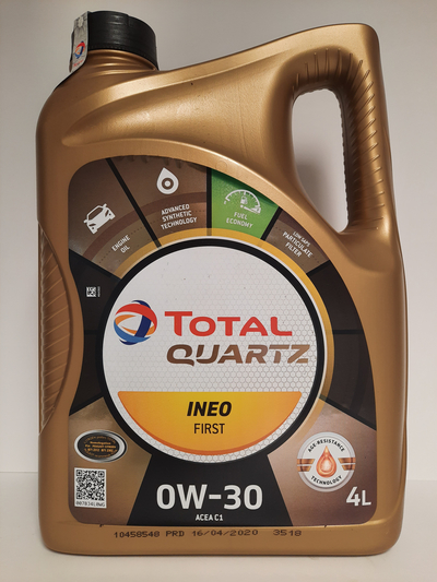 TOTAL QUARTZ INEO FIRST 0W30 4L