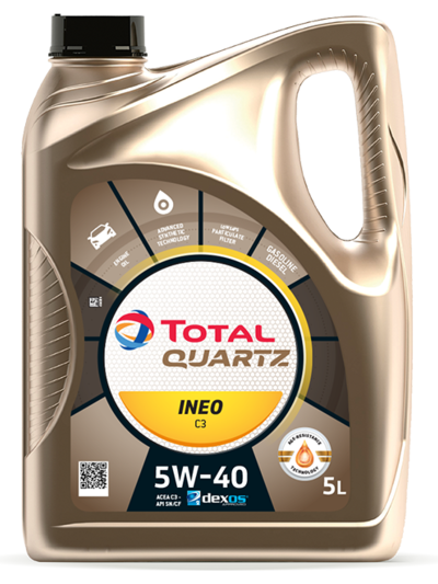 TOTAL QUARTZ INEO C3 5W40 5L