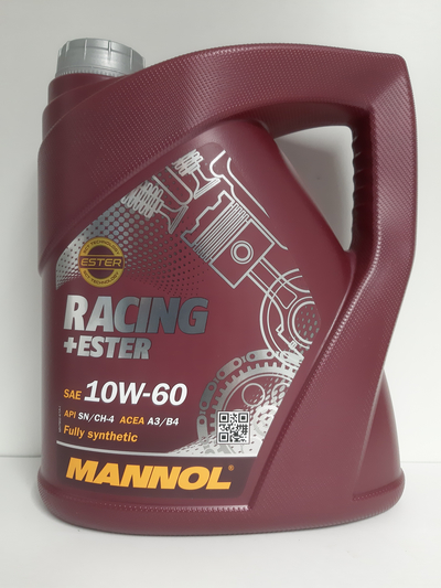 MANNOL RACING + ESTHER  10W60 4L