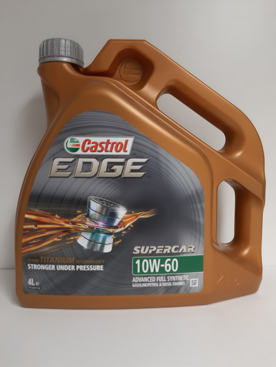 CASTROL EDGE SUPERCAR 10W60 4L