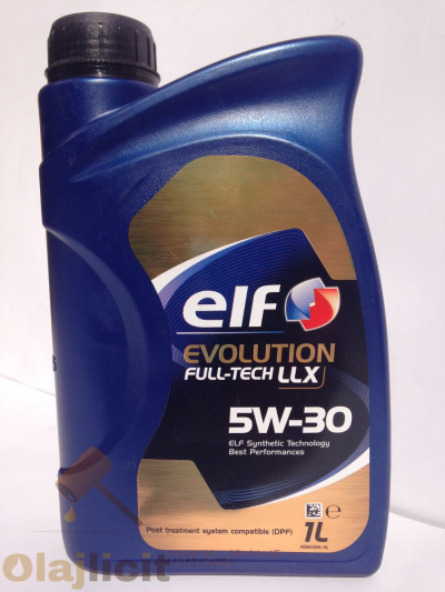 ELF EVOLUTION FULLTECH LLX 5W30 1L