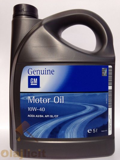 OPEL-GM MOTOR OIL 10W40 5L