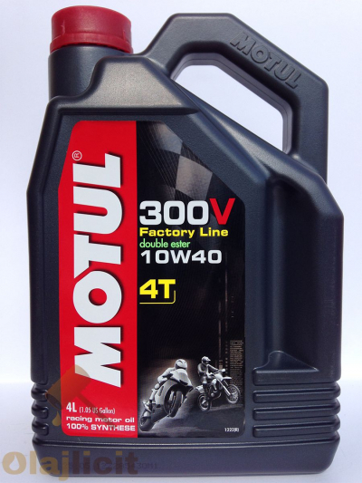 MOTUL 300V 4T FACTORY LINE ROAD RACING 10W40 4L
