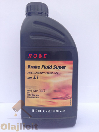 ROWE HIGHTEC BRAKE FLUID DOT 5.1 1L