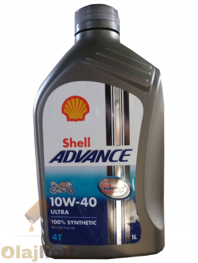 SHELL ADVANCE ULTRA 4T  10W40 1L