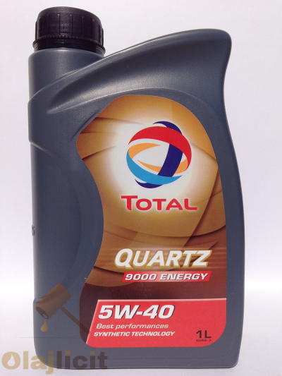 TOTAL QUARTZ 9000 ENERGY 5W40 1L