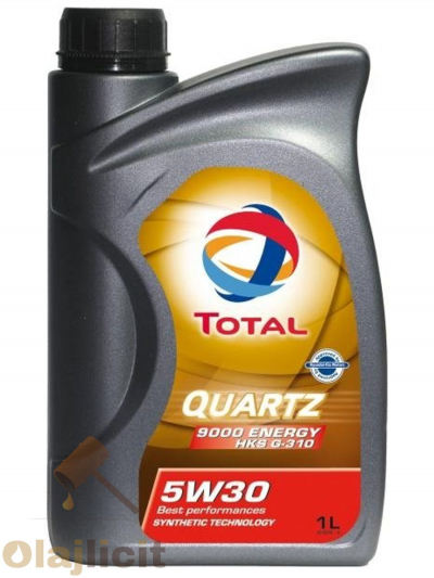TOTAL QUARTZ 9000 ENERGY HKS 5W30 1L