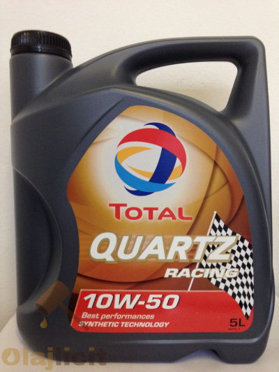 TOTAL QUARTZ RACING 10W50 5L