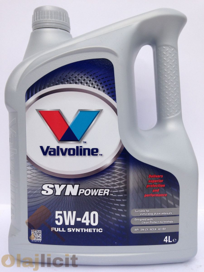 VALVOLINE SYN POWER 5W40 4L